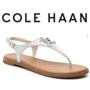 COLE HAAN Findra sandal, metallic nubuck